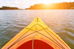 One of the best ways to explore the Poconos is kayaking!
