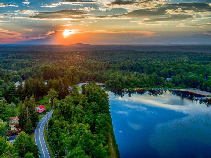 view of lake naomi