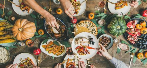 thanksgiving in the poconos